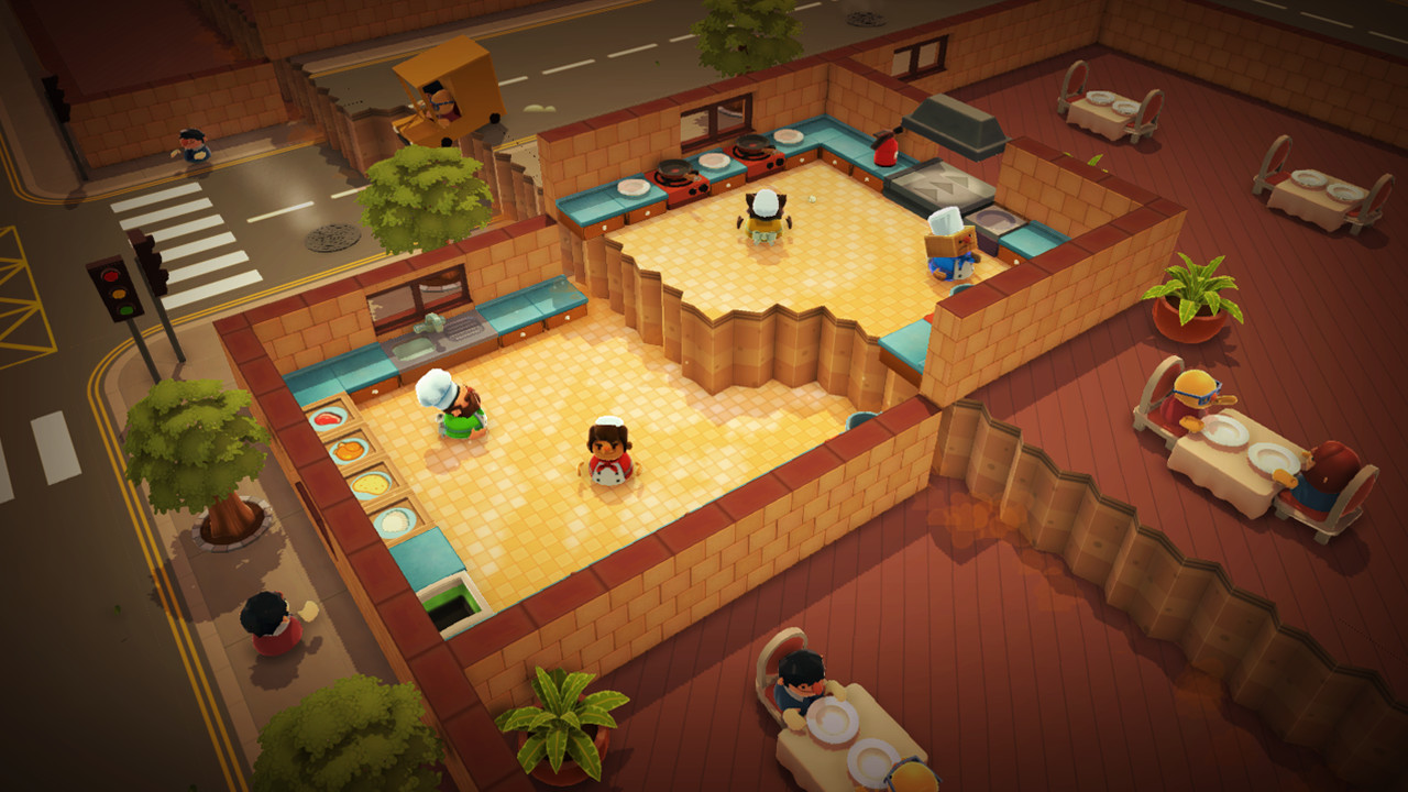 Overcooked ¡A dos niveles!